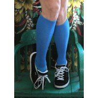 Womens Knee High Solid Colored Socks