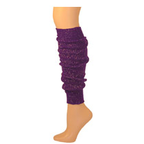 Womens Sparkle Leg Warmers