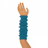 "Colored Arm Warmers - Turquoise (17"")"