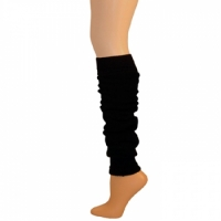 "Leg Warmers w/ Welt - Black (23"")"