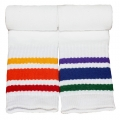 "Athletic Rainbow Striped 14"" Kids Tube Socks (Style 3)"