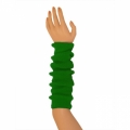 "Colored Arm Warmers - Green (17"")"