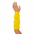 "Colored Arm Warmers - Lemon Yellow (17"")"