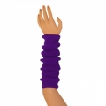 "Colored Arm Warmers - Purple (17"")"
