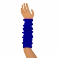 "Colored Arm Warmers - Royal Blue (17"")"