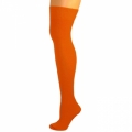 Knee High Nylon Socks - Orange