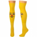 Smiley Face Knee High Socks