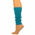 "Solid Colored Leg Warmers - Turquoise (17"")"